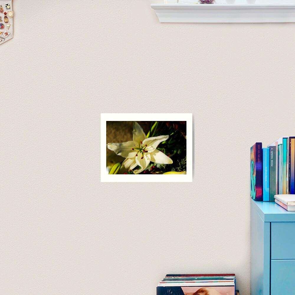 Macro Florals Art Print