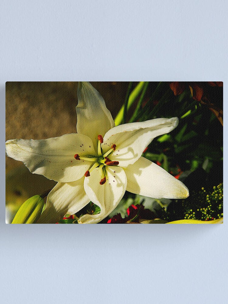 Alternate view of Macro Florals Canvas Print