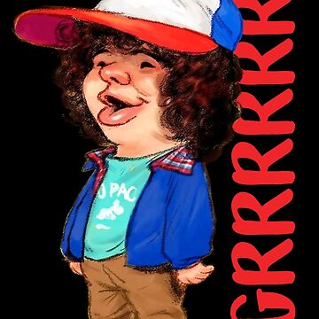 Stranger Things Dustin Grrrr by LeoZitro