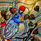 Blue Bird Zen: digital version by Alma Lee