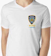peralta badge Men's V-Neck T-Shirt