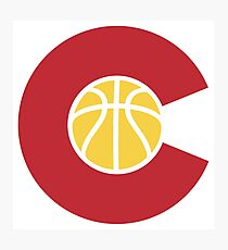 Colorado Basketball Photographic Print