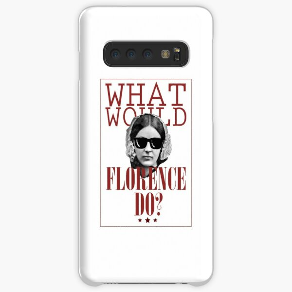 What Would Florence Do? Funny Florence Nightingale Samsung Galaxy Snap Case