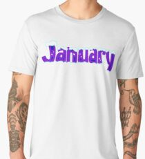 First month is january Men's Premium T-Shirt