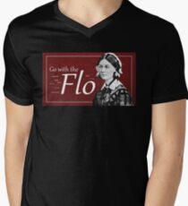 Go with the Flo Florence Nightingale V-Neck T-Shirt