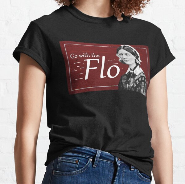 Go with the Flo Florence Nightingale Classic T-Shirt