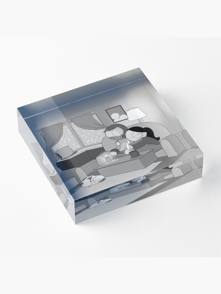 Alternate view of Winter Acrylic Block