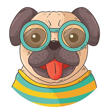 Pug Dog by DCstore