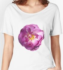 Pink Rose Photo  Women's Relaxed Fit T-Shirt