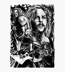 Metallica Black Photographic Print