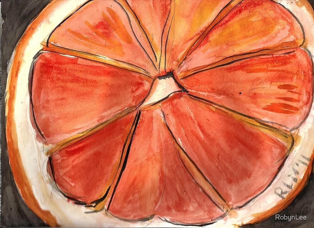 The Big Orange by RobynLee