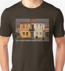House with split personality Unisex T-Shirt