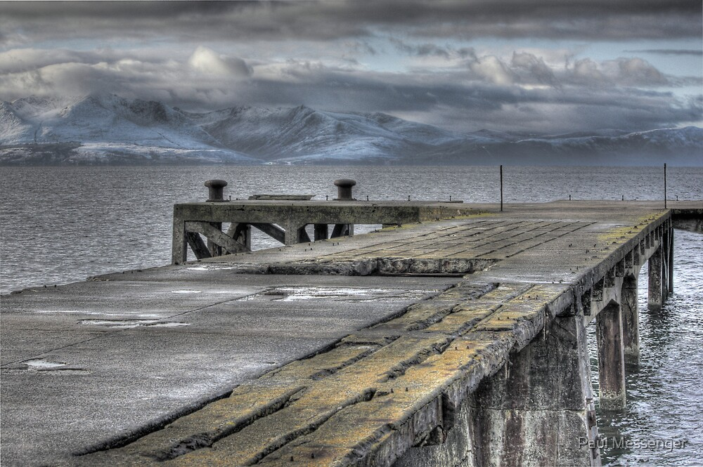 Portencross jetty by Paul Messenger