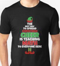 math teacher christmas shirt funny teacher christmas unisex t shirt