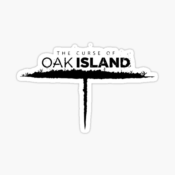 oak island Sticker