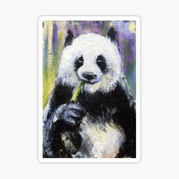 Gives No Effs Panda Sticker