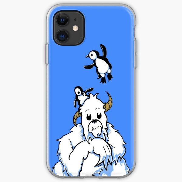 Bored Yeti and Penguins MKII iPhone Soft Case