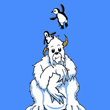 Bored Yeti and Penguins MKII by etourist