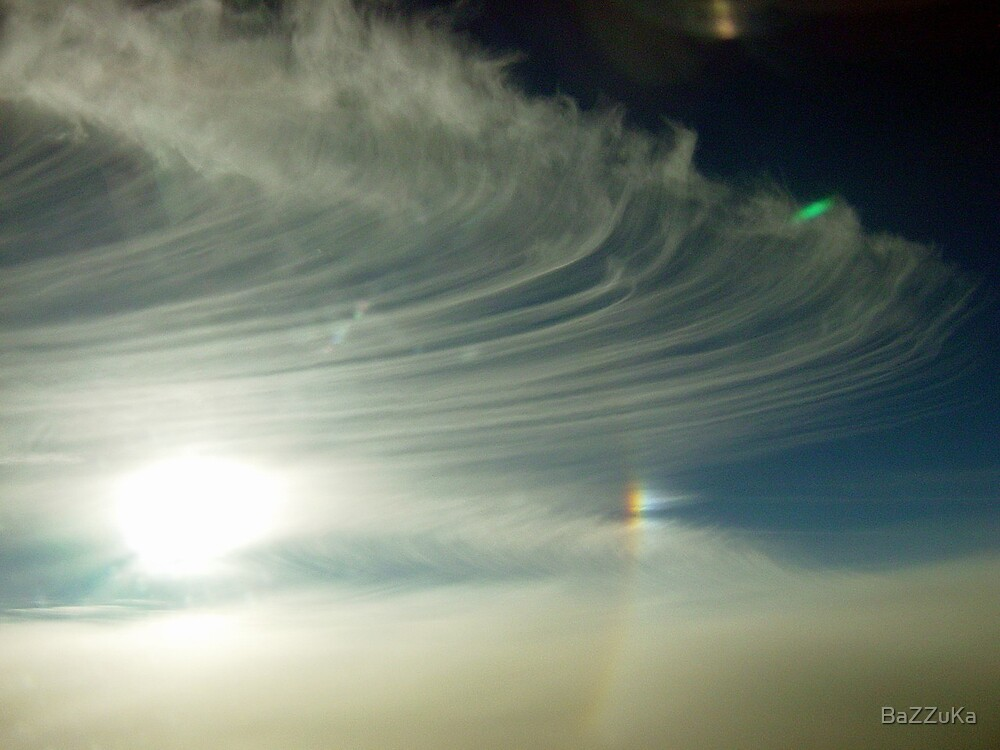 Ice crystals clouds by BaZZuKa