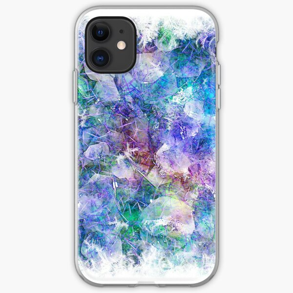Crystal Frost 1 iPhone Soft Case