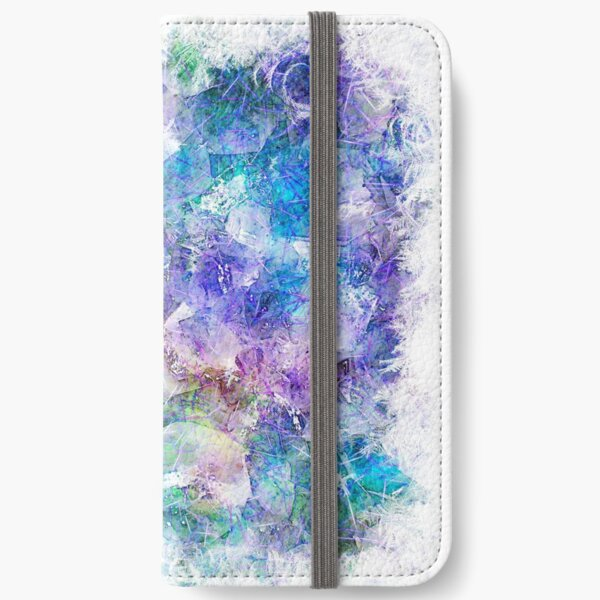 Crystal Frost 1 iPhone Wallet