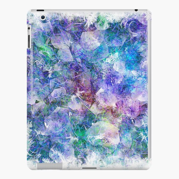 Crystal Frost 1 iPad Snap Case