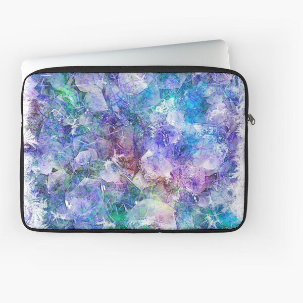 Crystal Frost 1 Laptop Sleeve