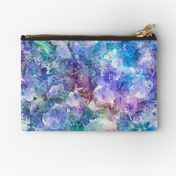 Crystal Frost 1 Zipper Pouch