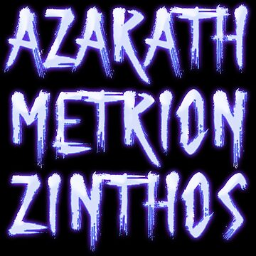 Azarath Metrion Zinthos by ancuribe