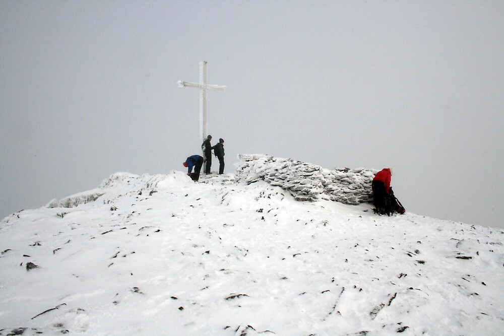 Carrauntoohil summit by John Quinn