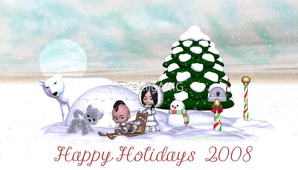 Happy Holidays 2008 by FireLilyAMG