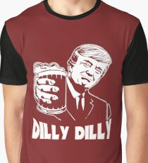 4e5e26a1fbe Donald Trump Bud Light Official Dilly Dilly T-Shirt Patrick s Day Gift Tess  Graphic T