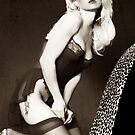 Black & White Pinup by Clayton Bruster