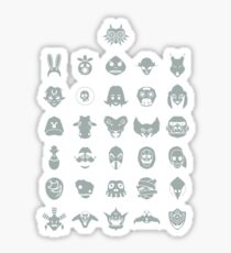 Mask Collection Sticker