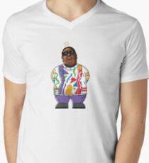 Camiseta de cuello en V Biggie Smalls