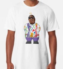 Camiseta larga Biggie Smalls
