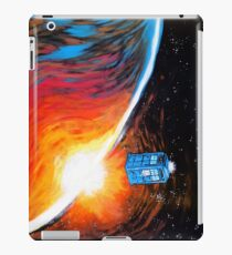 Time Travel Tardis iPad Case/Skin
