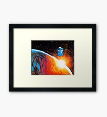 Time Travel Tardis Framed Print