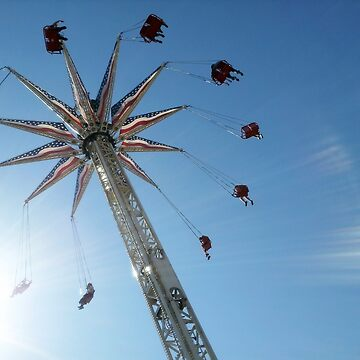 Aerial Swing Ride Luna Park by JeanRim