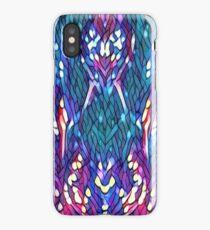 Mosaic Peacock Design  iPhone Case/Skin