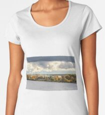 Nikolsky Monastery of the Old Ladoga. Women's Premium T-Shirt