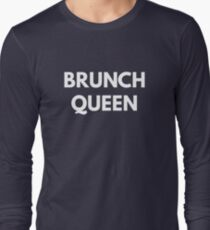 Brunch Queen t-shirt - Funny Saying Shirts T-Shirt