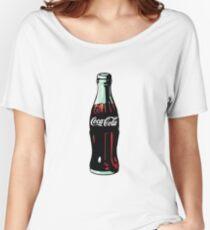 Pop Art Coca-Cola Bottle Women's Relaxed Fit T-Shirt