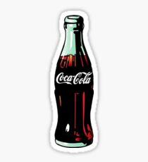 Pop Art Coca-Cola Bottle Sticker