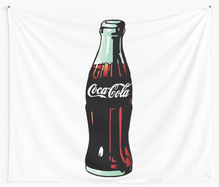 Pop Art Coca-Cola Bottle\