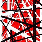 Frankenstein-Muster (rot) von Anthony Segrist