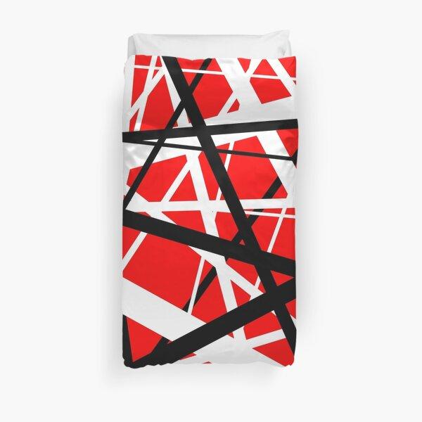 Frankenstein Pattern (Red) Duvet Cover