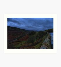 Snake Pass in Autumn Art Print