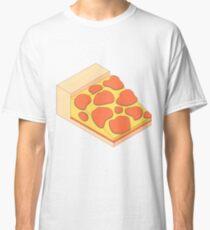 Isometric Pepperoni Pizza Classic T-Shirt