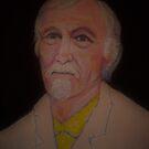 Self portrait of the artist Richard Tuvey by Richard  Tuvey